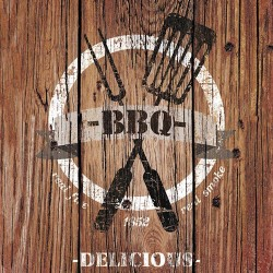 Barbecue Time Brown Napkins