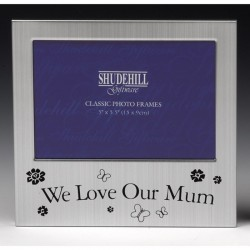 We Love Our Mum Photo Frame