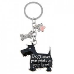 Razzle Dazzle Dog Keyring