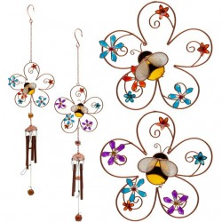 Bee and Flower Wind Chime