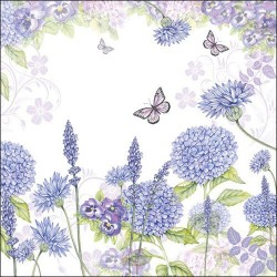Purple Wildflowers Napkins