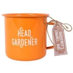 Head Gardener Enamel Mug