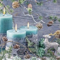 Blue Candles Napkins