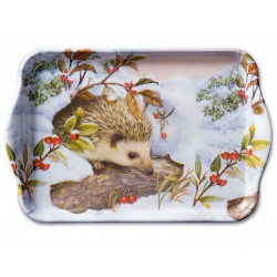 Hedgehog In Snow Small Tray