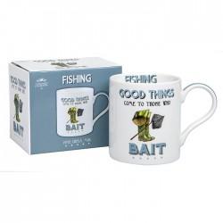 Fishing Themed Fine China Mug