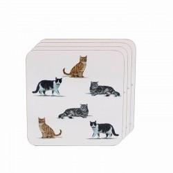 MacNeil Cats Coasters