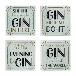 Gin Glass Coasters