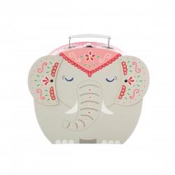 Mandala Elephant Suitcase...