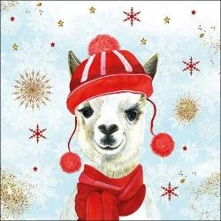 Winter Llama Napkins