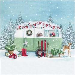 Christmas Caravan Napkins