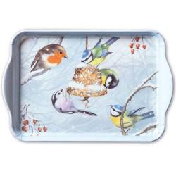 Winter Birds Small Tray