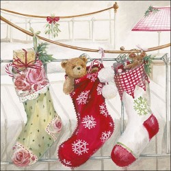 Christmas Stocking Napkins