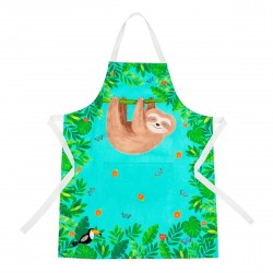 Sloth and Friends Kid's Apron