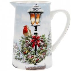 Christmas Robin  Jug