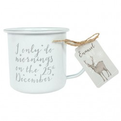 Christmas Morning Enamel Mug