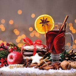 Christmas Gluhwein Napkins