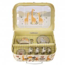 Savannah Safari Picnic Tea Set