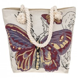 Butterfly Tapestry Tote Bag