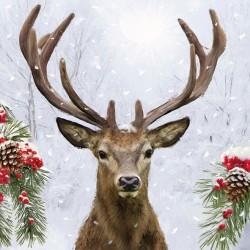 Deer in Winter Napkins