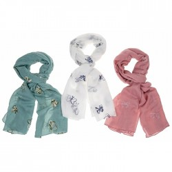 Equilibrium Scarf Pink With...