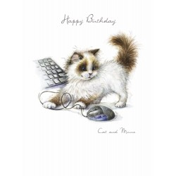 Noel Tatt Birthday Card Cat...