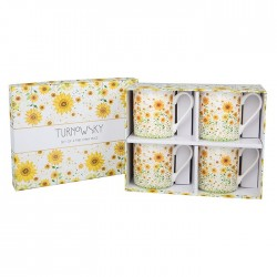 Sunflower Fine China Mugs...