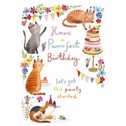 Noel Tatt Birthday Card...