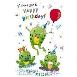 Noel Tatt Birthday Card Frogs