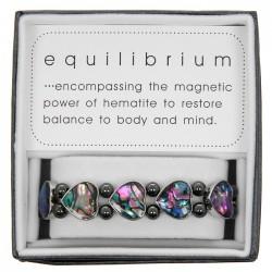 Equilibrium Hematite & Paua...