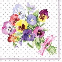 Bunch of Violets Berry Napkins