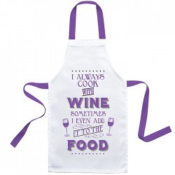Best Cook Apron Wine