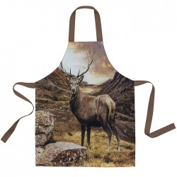 British Wildlife Stag Apron