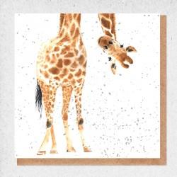 Giraffe Blank Greeting Card...