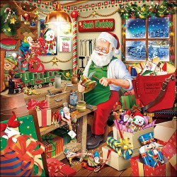 Santa's Workshop Napkins