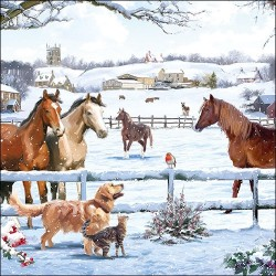 Appointment Horses Napkins