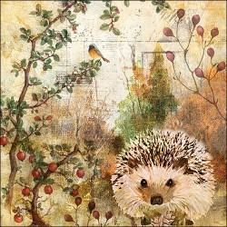 Autumn Hedgehog Napkins