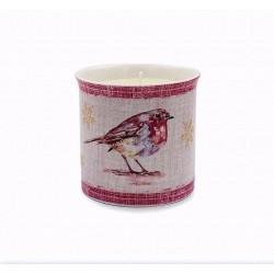 Winter Robin Porcelain...