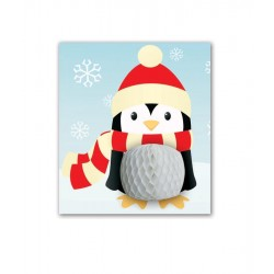 Penguin With Scarf Card