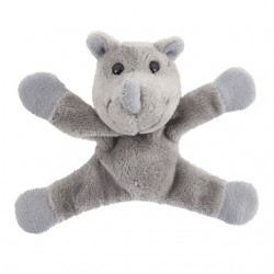 Cute Rhino Plush Fridge Magnet