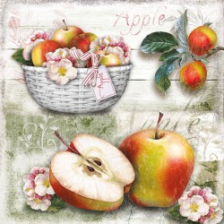 Apple Basket Napkins