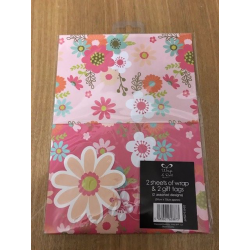 Daisy Gift Wrap Pack