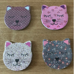 Cat Face Nail File Emery...