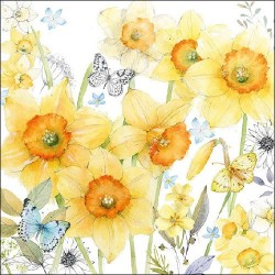 Classic Daffodils Napkins